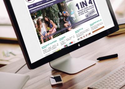 Website Design – The Survivors Trust