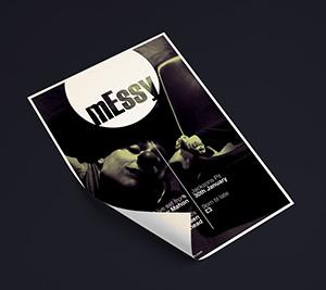 Creative Design – Messy Flyer