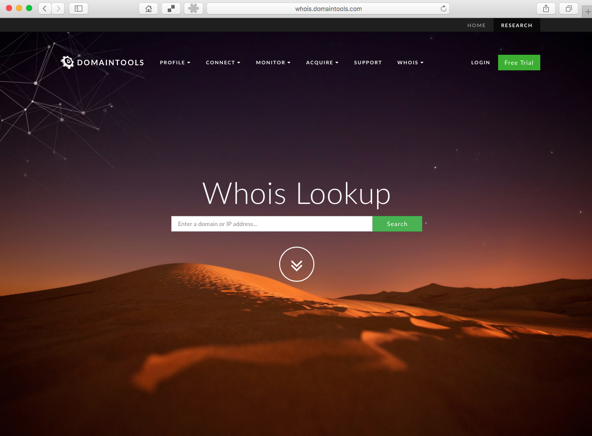 Find our who owns a domain - Caffeinated Projects