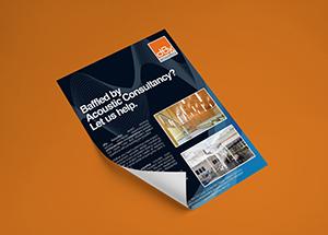 Graphic Design – dBx Acoustics Flyer