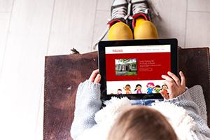 Responsive Website Design – Holy Family School