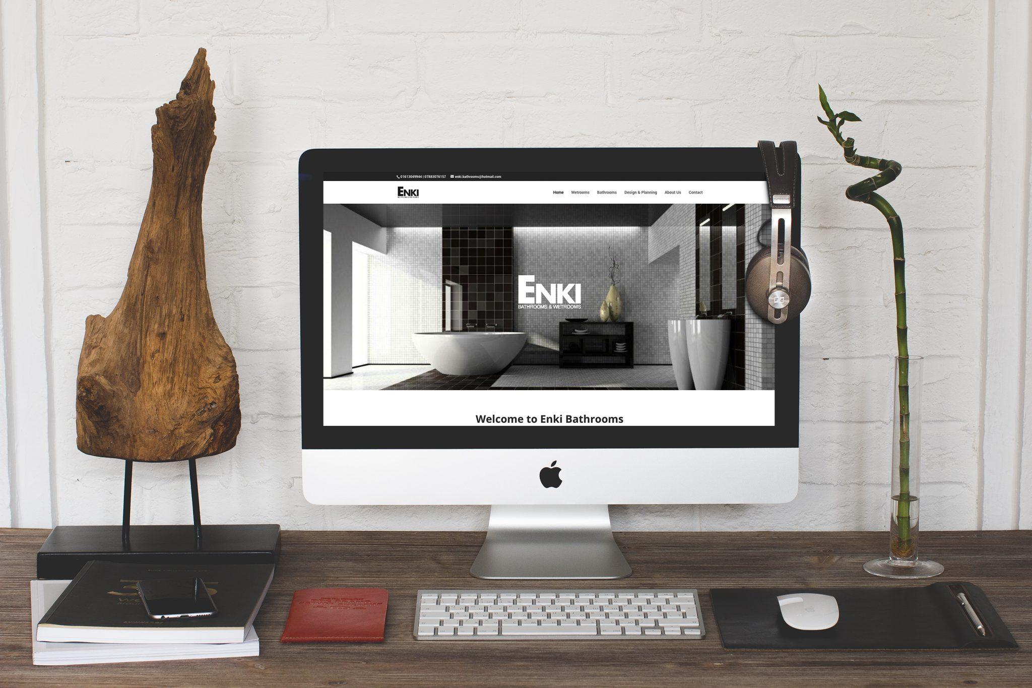 Enki Bathrooms Website