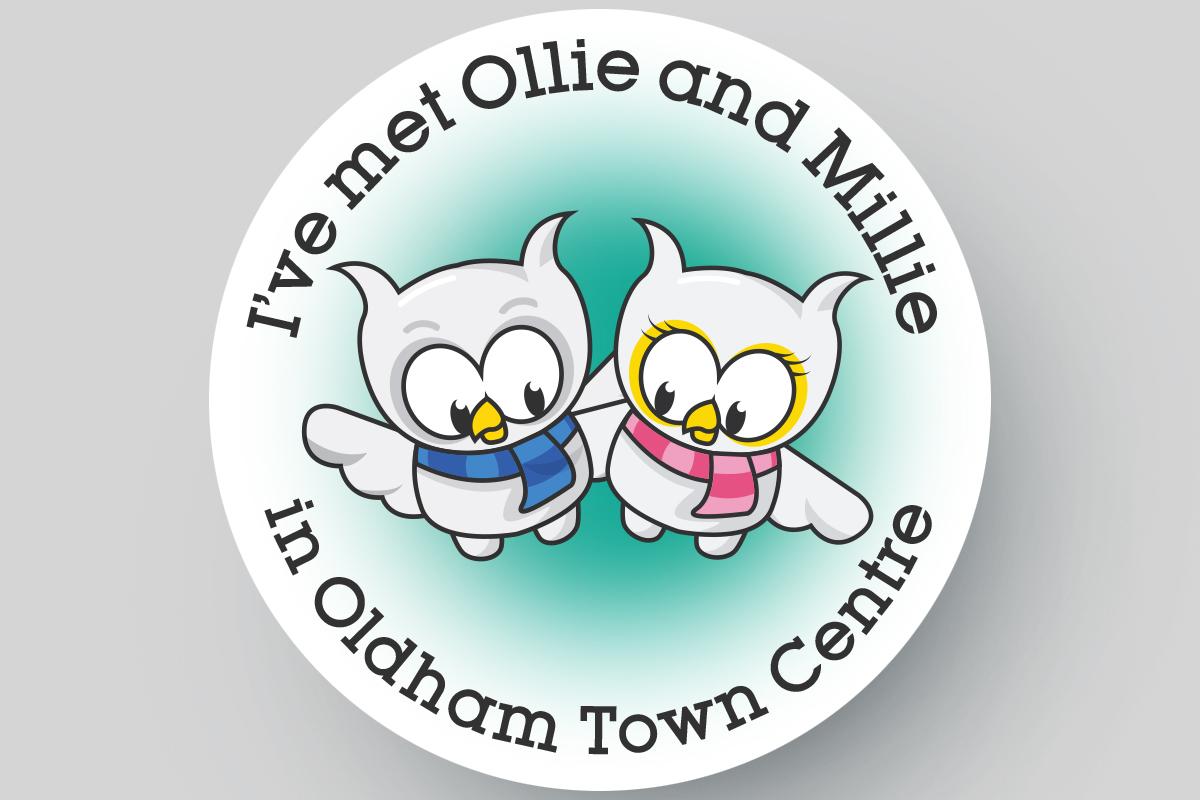 Illustration Oldham Ollie & Millie
