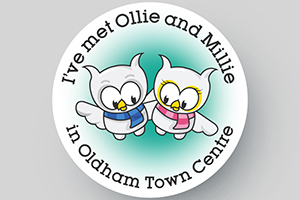 Illustration Oldham Ollie & Millie
