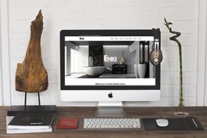 Website Design – Enki Bathrooms Website