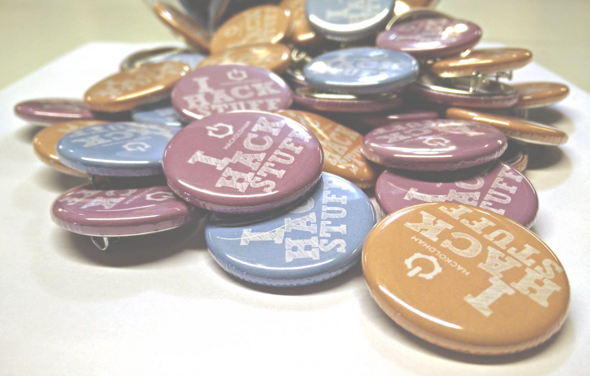 Hack Oldham Badges
