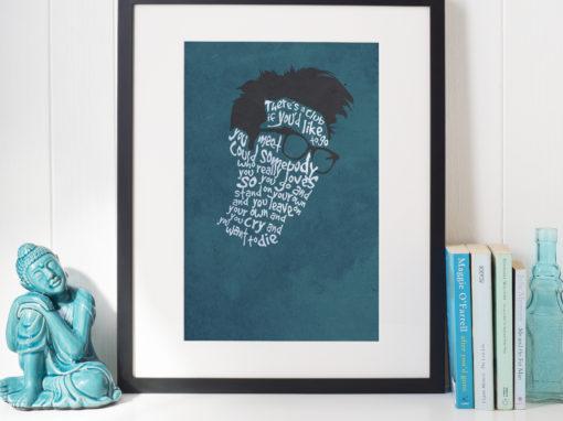 Morrissey Illustration Oldham
