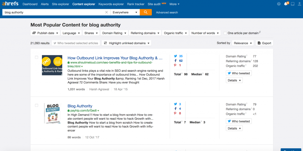 Author Authority Search